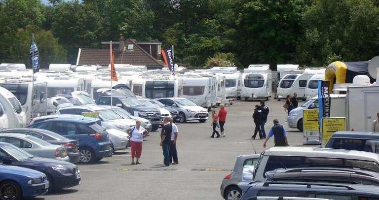 Davan Caravans & Motorhomes Club Rally Worle, Weston-super-Mare