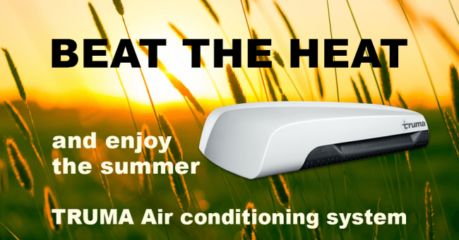 Beat the heat with Truma Air Conditioning on your Motohome OR Caravan