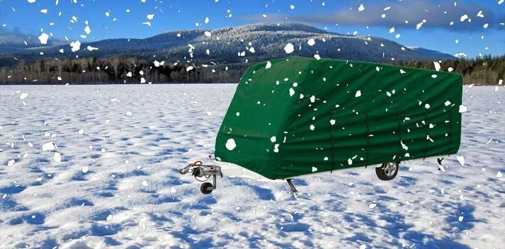 Kampa Caravan Motorhome Cover for Winter