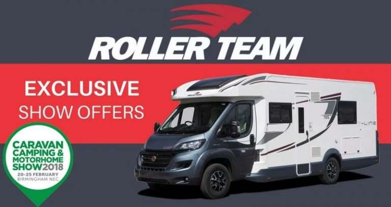 Roller-Team-Exclusive-Show-Offers-NEC-Caravan-Camping-Motorhome-Show