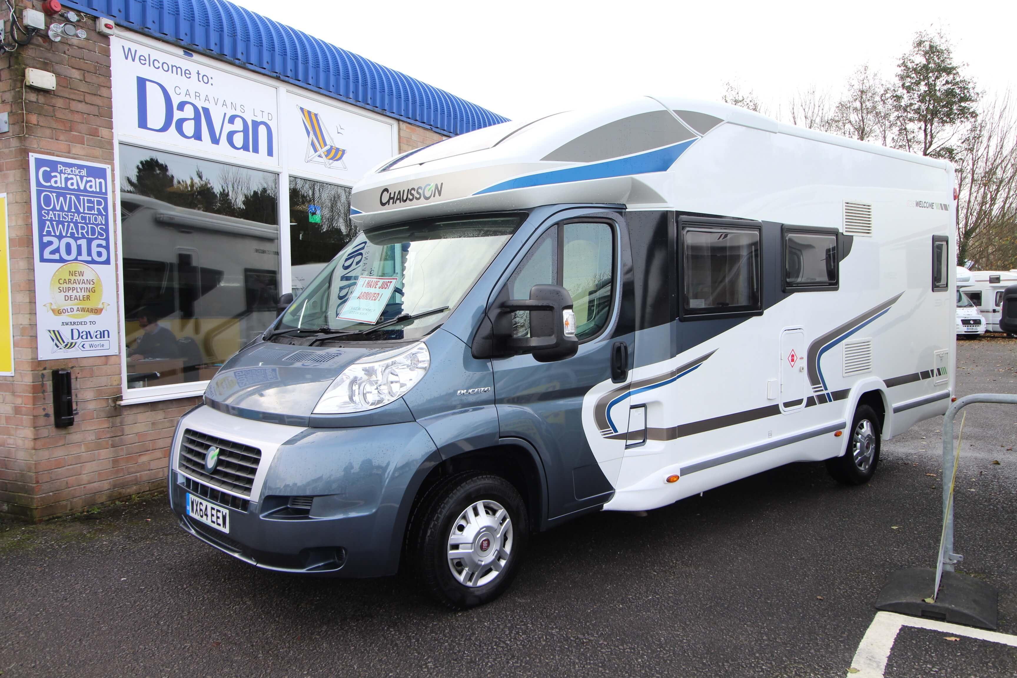 2014 Chausson Welcome 625 External Front