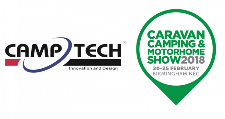 CampTech Awnings at the NEC - February Caravan, Camping & Motohome show 2018
