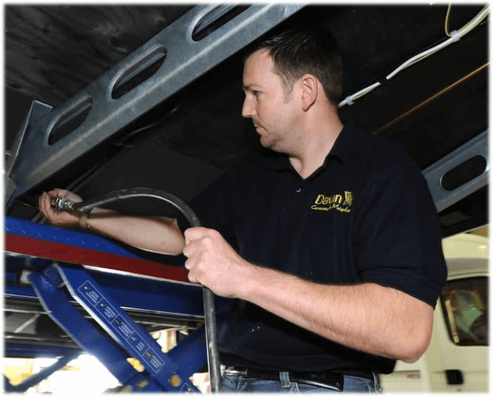 Caravan and Motorhome Servicing