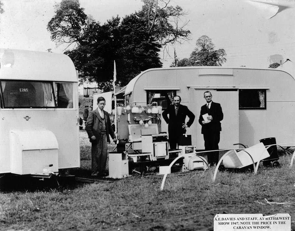 Early caravan show