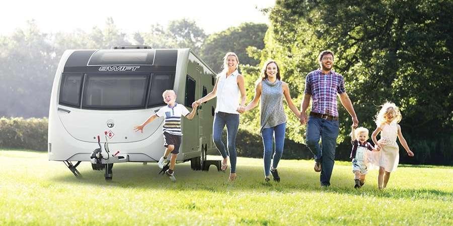 2018 Swift caravans