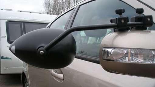 Convex Milenco Towing Mirror