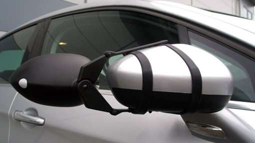Milenco Flat Strapped Towing Mirror