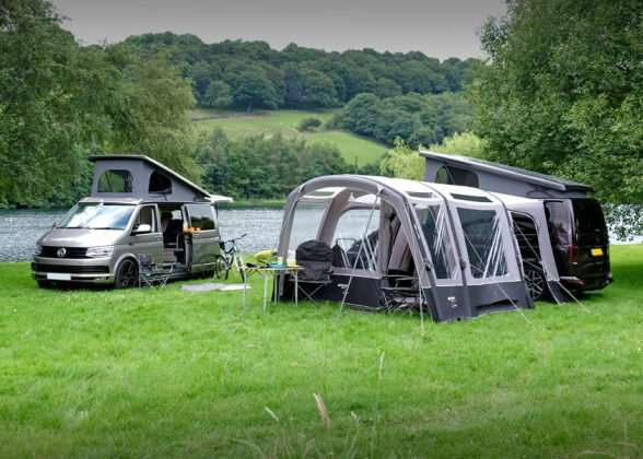 Motorhome awnings drive away Vango cruz-ii-tall