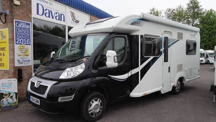 2014 Bailey Approach Autobiography 745SE Exterior Front