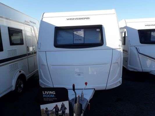 2021 Weinsberg caravan Caraone 390 front