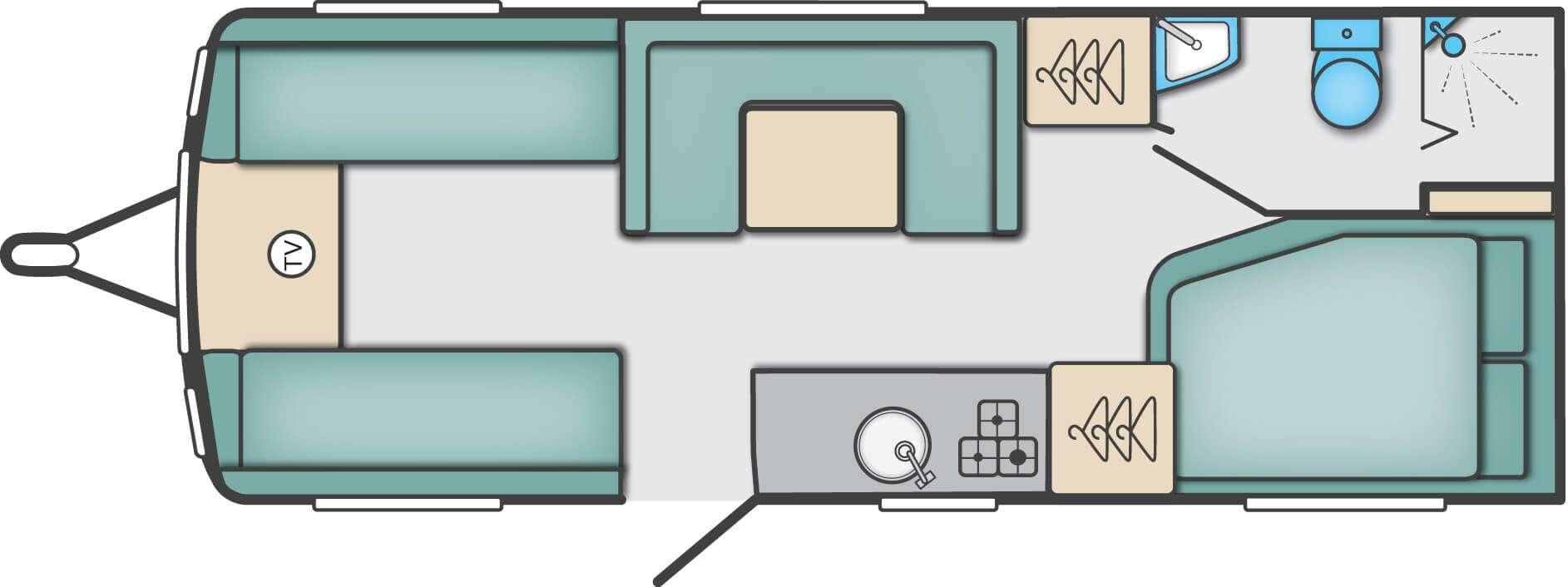 Swift Sprite Caravan layout