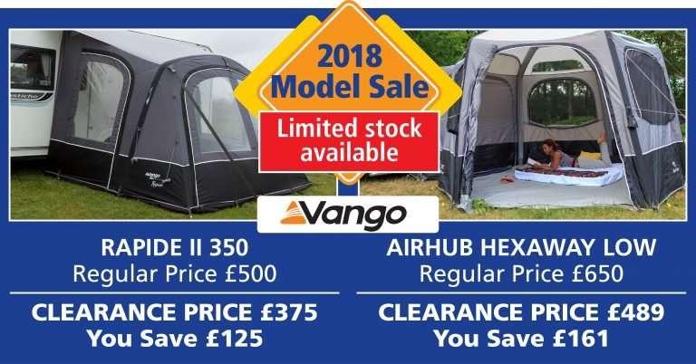Vango Awnings Sale Ad