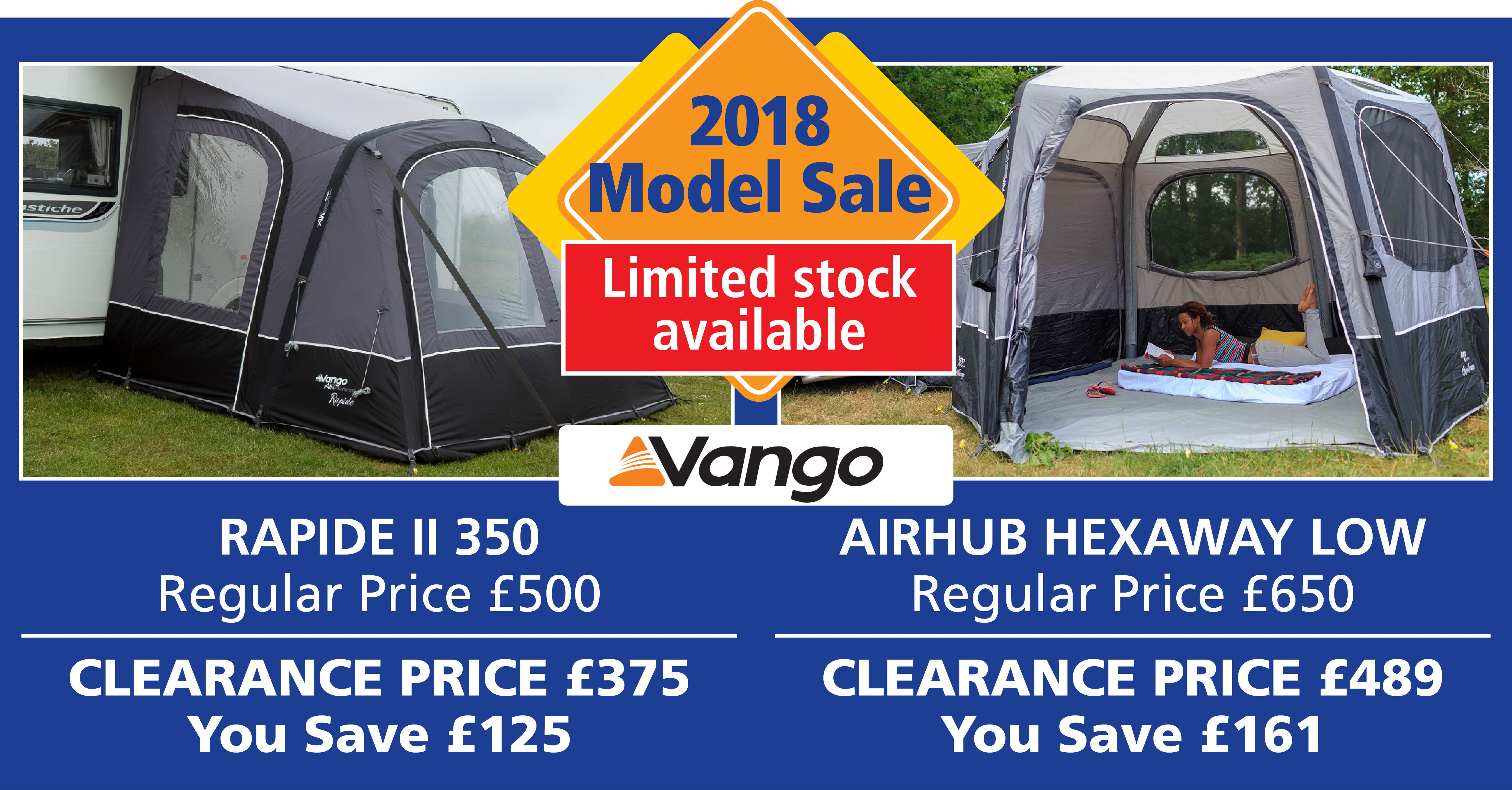 Vango Awnings Sale Ad