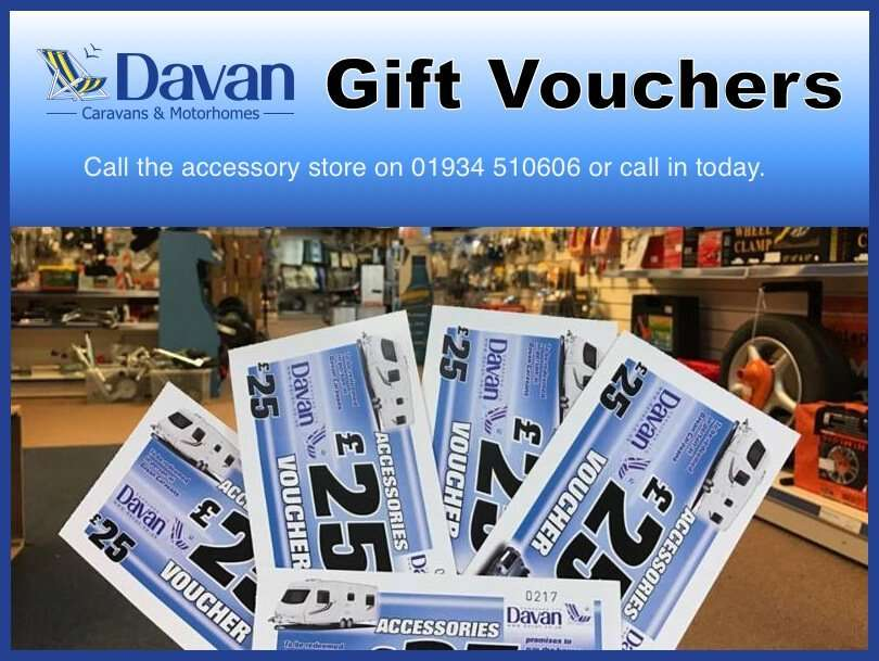Caravan Accessories Gift Vouchers in Worle