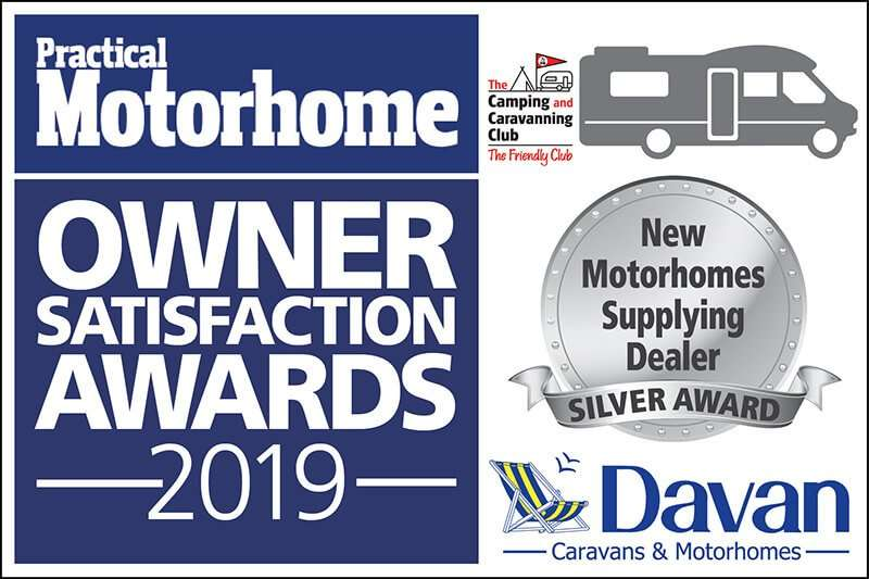 2019 New Motorhome Silver Award