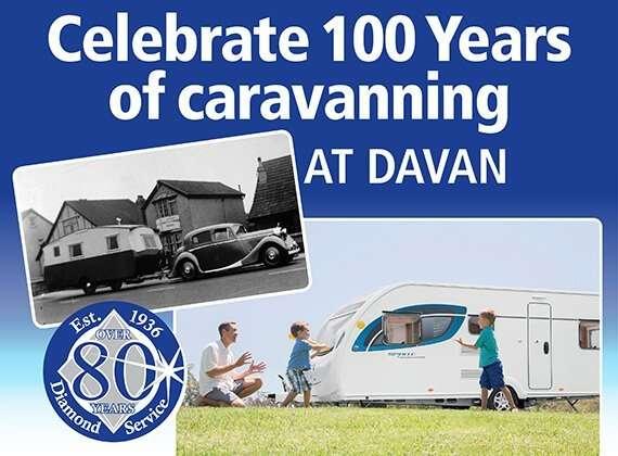 Celebrate 100 Years Caravanning