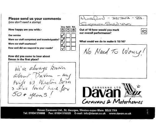 Davan Testimonial