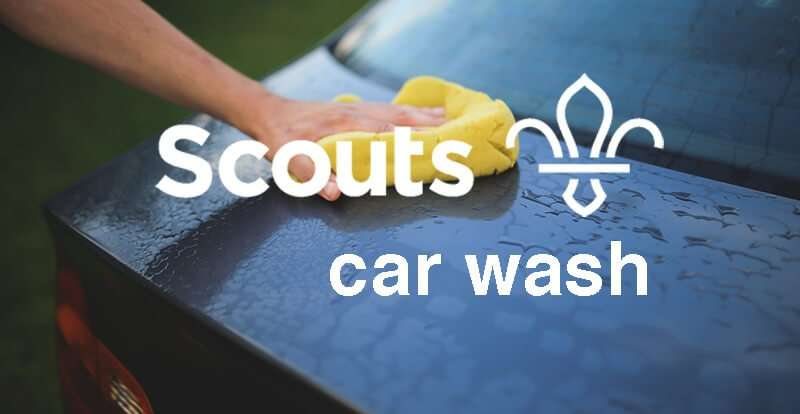 The Scouts car wash at Davan Summer Event June 15th and 16th