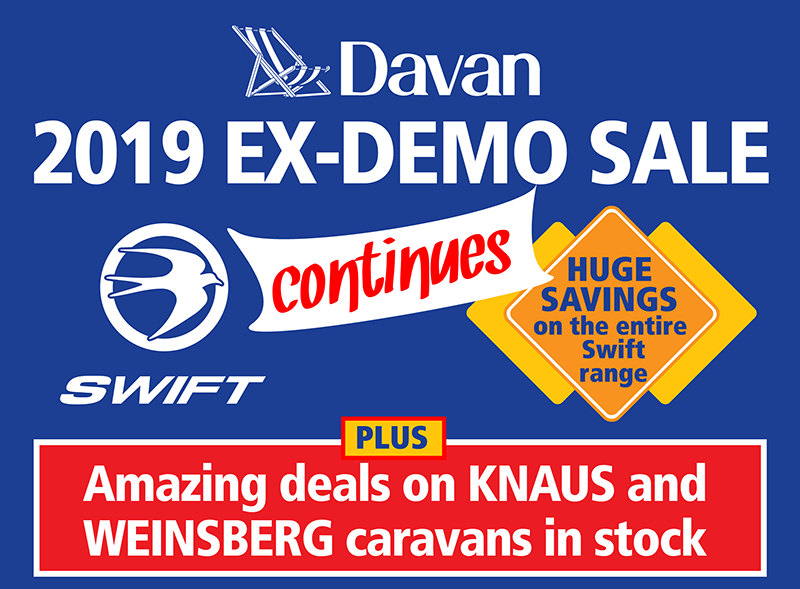 2019 Ex Demo Sale continues
