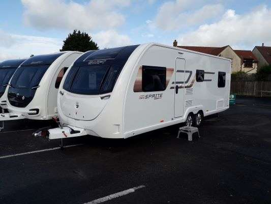 2021 Swift Caravan Sprite Super Quattro FB