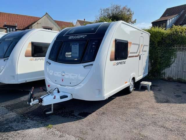 2021 Swift caravan sprite Alpine 2
