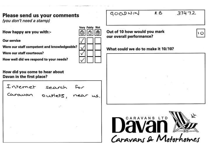 Customer testimonial 2 for Davan August 2019 copy