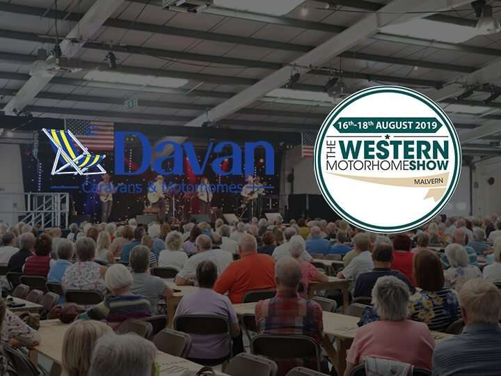 Davan at the Western Motorhome show