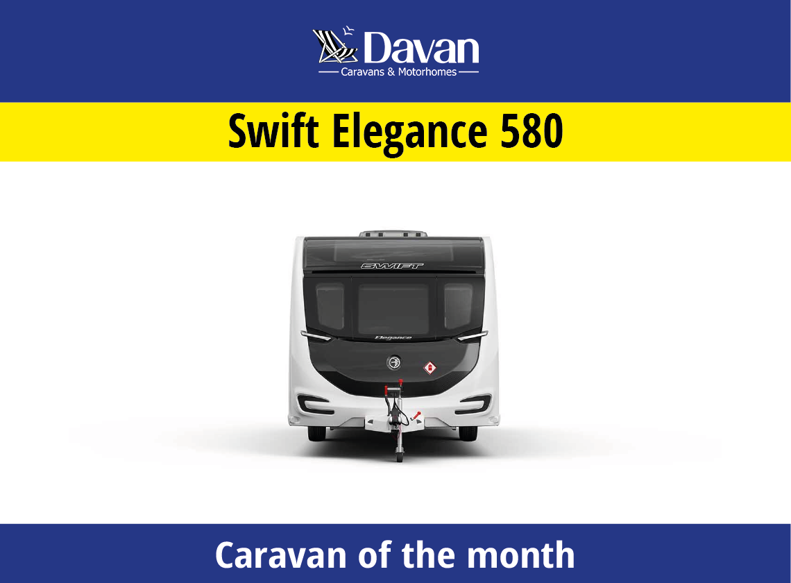 Caravan of the month Swift Elegance 580