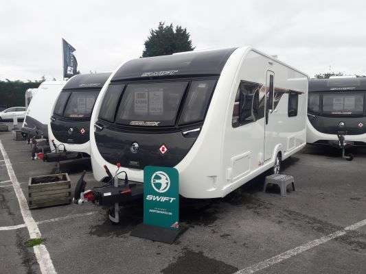 2020 Swift caravan Eccles X 865