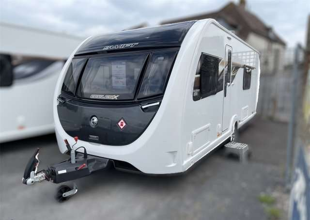 2020 Swift caravan Eccles x 865