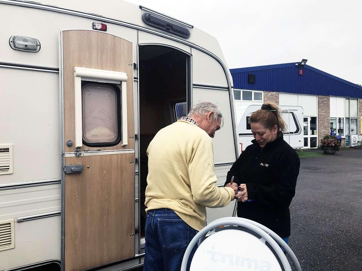 Caravan repair solution