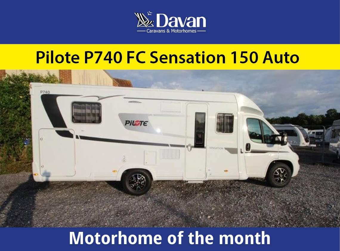 Motorhome of the month of October Pilote P740 FC Sensation