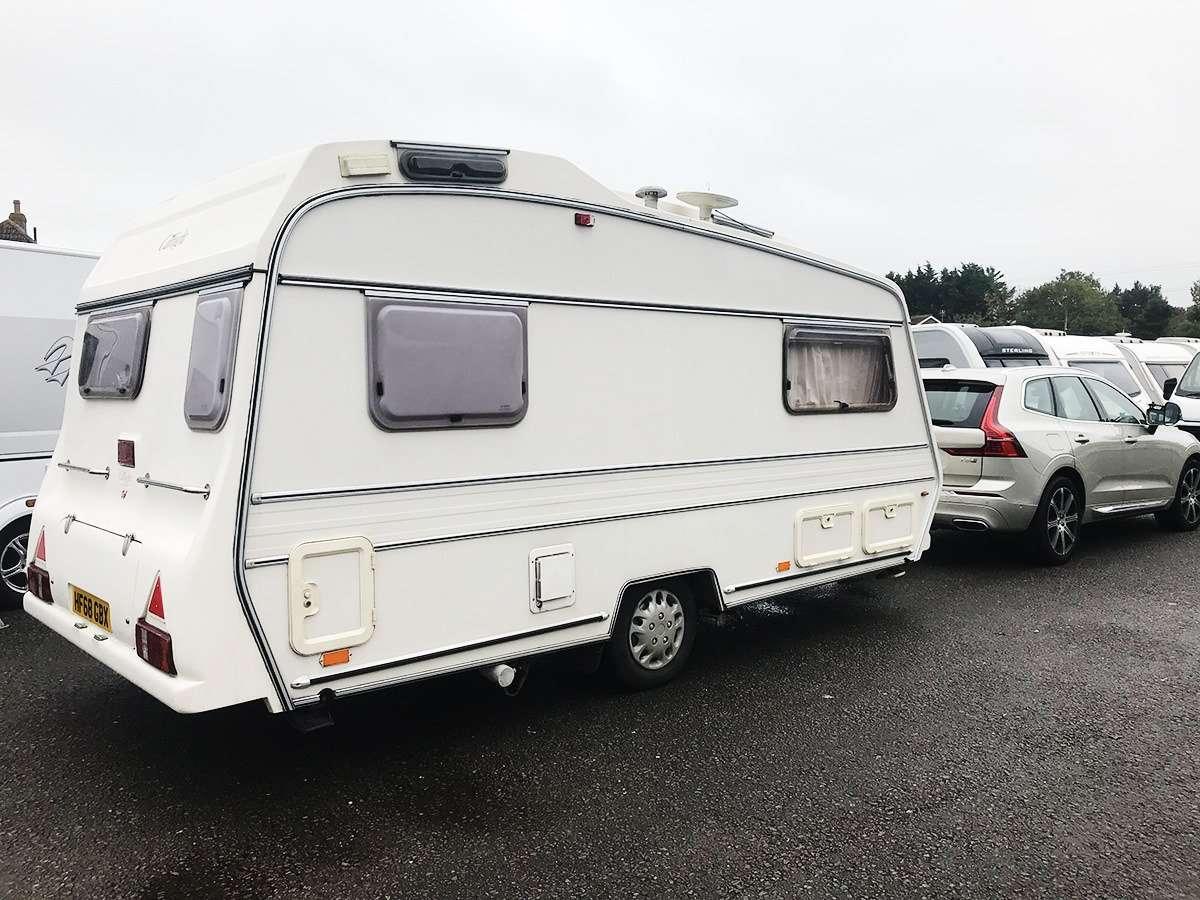 Repairing a classic caravan