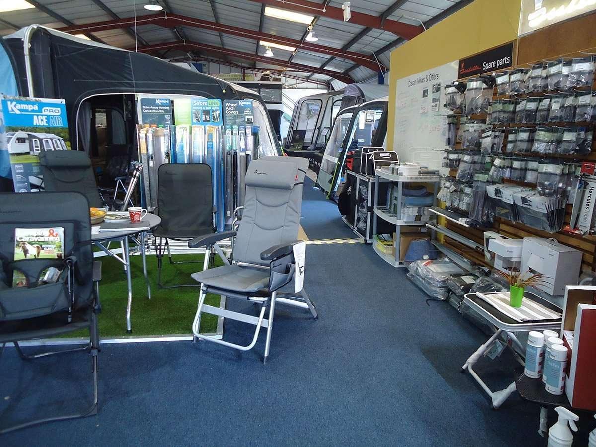 Caravan and Motorhomes Awnings Shoowroom 2