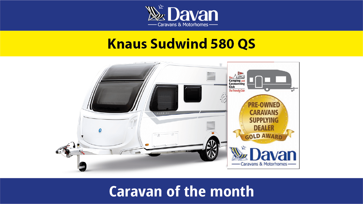 KNaus Sudwind 580 QS Caravan of the month featured image 1