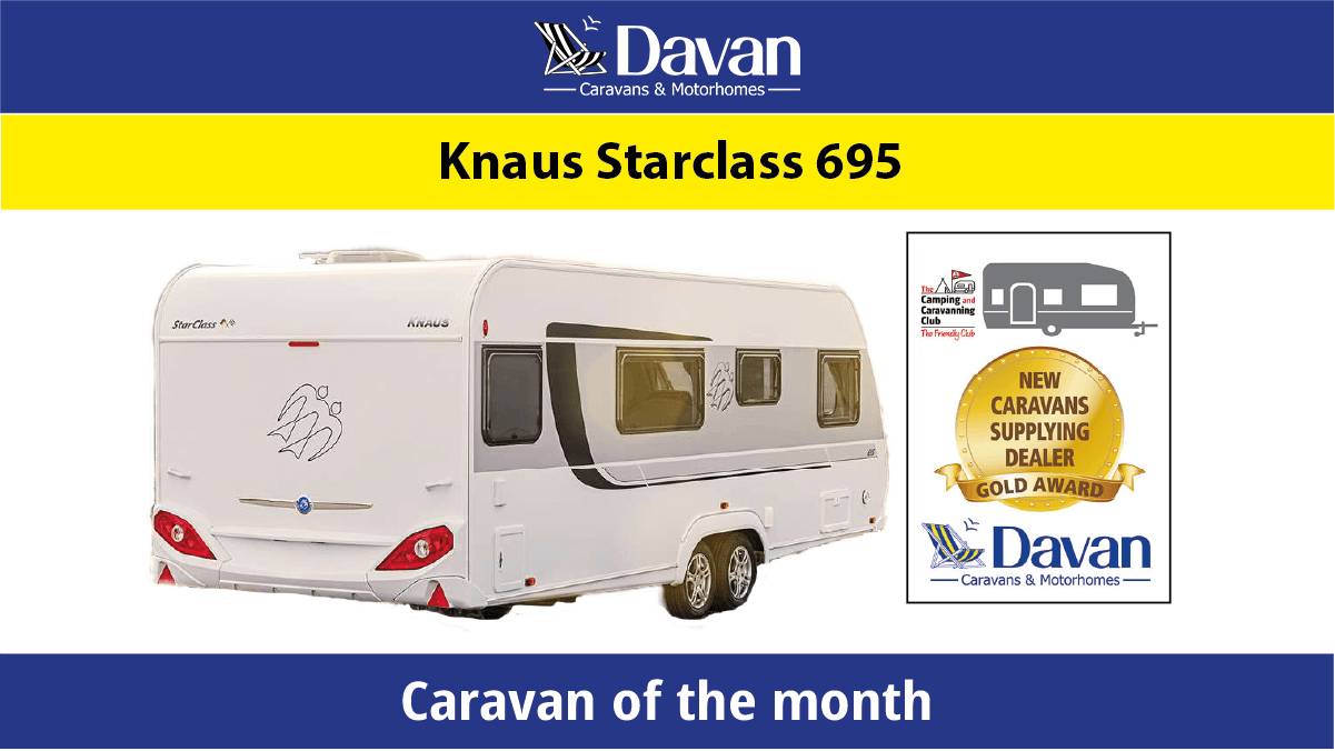 December Caravan of the month Knaus Starclass 695 featured image