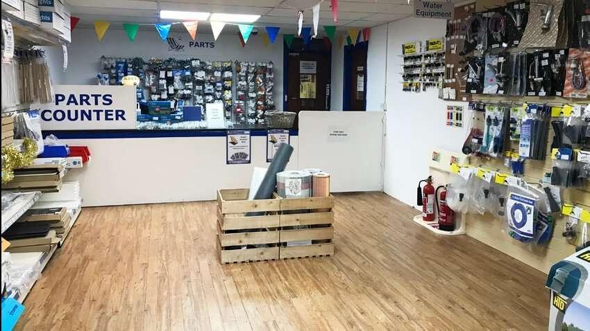 New Davan Parts Counter