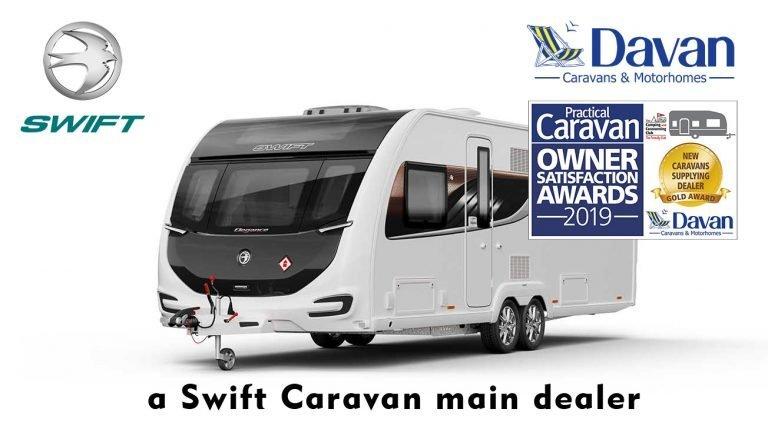 2020 Swift Caravans Main Dealer