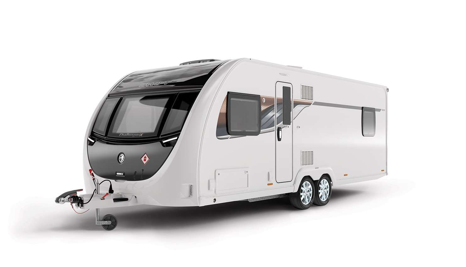 Swift Caravan Challenger-X-835-Front-3Q-SWIFT