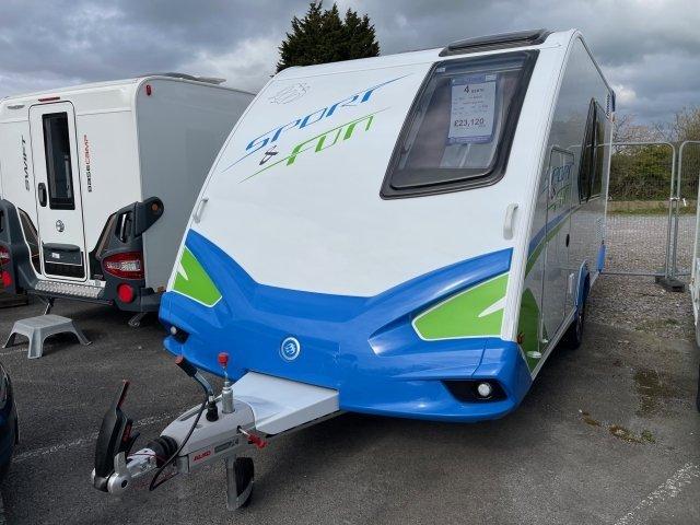 2021 Knaus Caravan Sport and fun front