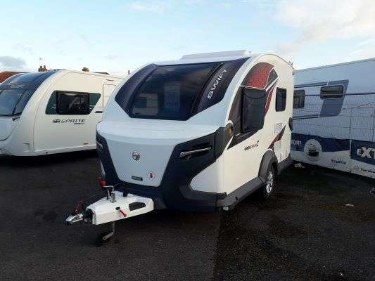 2021 Swift caravan basecamp