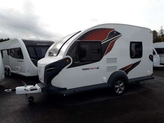 2021 Swift caravan basecamp 4