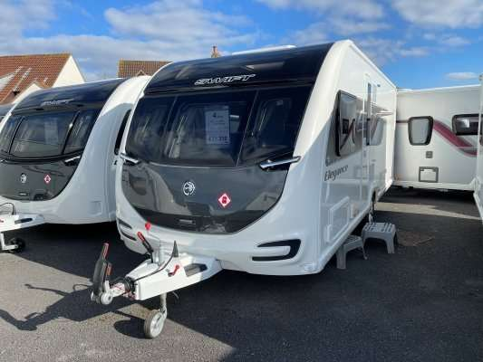 2021 Swift caravan elegance 580