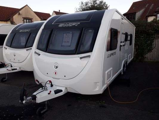 2021 Swift caravan sprite quattro ew external