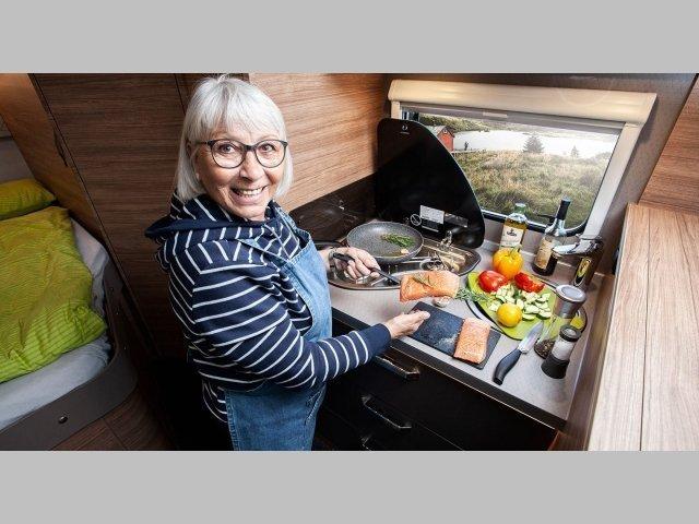 2020 Caracore 650 MEG Kitchen area
