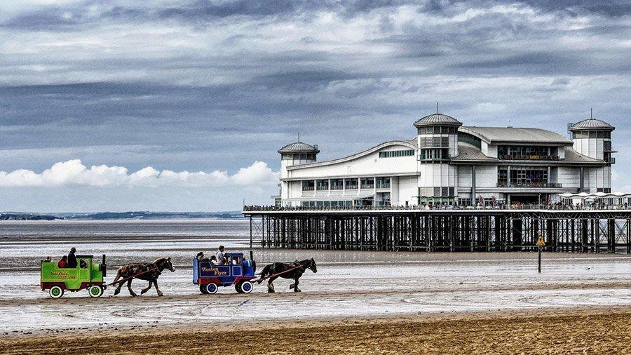 weston-super-mare UK staycation