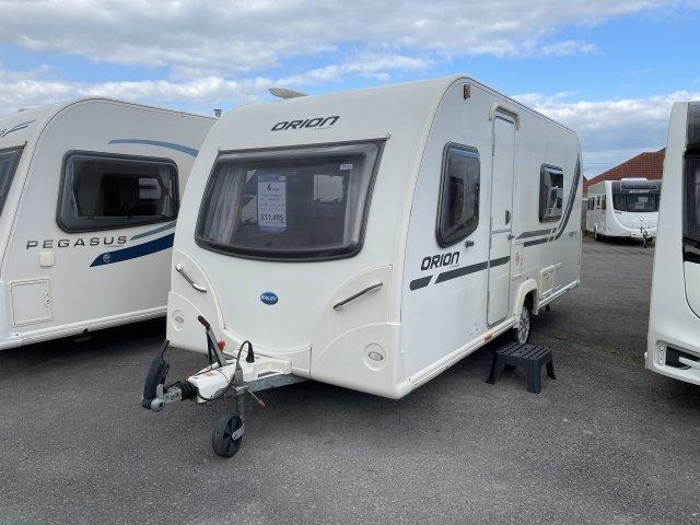 2012 Bailey caravan orion 430