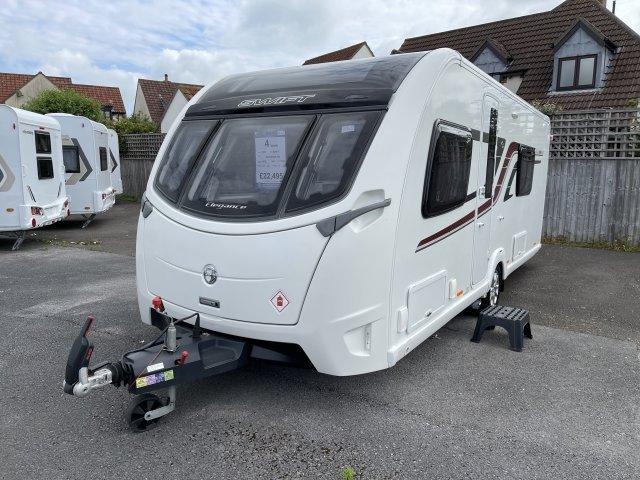 2016 Swift caravan Elegance 565