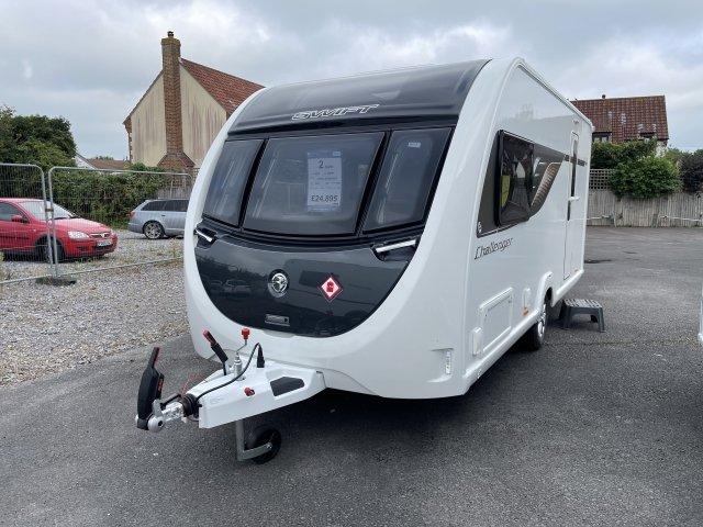 2022 Swift Challenger caravan 480 front