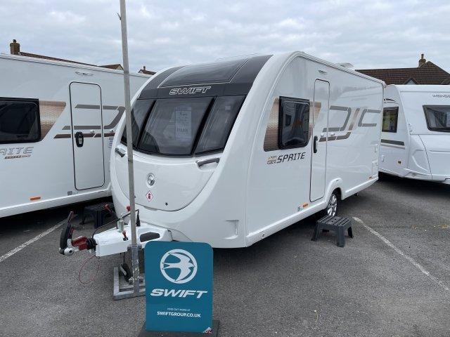 2022 Swift caravan Sprite Alpine 4